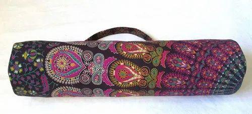 Cotton Printed Mandala Yoga Bags