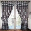 Printed Cotton Door Curtain