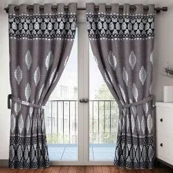 Printed Cotton Door Curtain