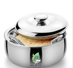 Parasnath Stainless Steel Chapati Box