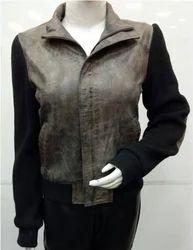 Ladies Leather Jacket DN-1107