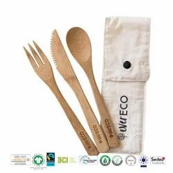 Grs Recycle Cotton Cutlery Bag