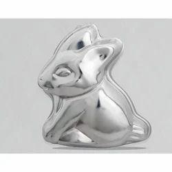 Rabbit Sitting Cake / Jelly Pans