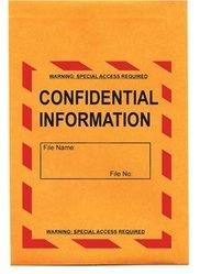 Paper White Confidential Envelope, For Office