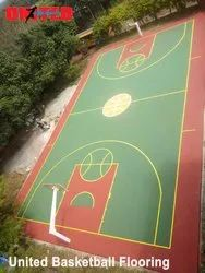 Synthetic Basket Ball Court