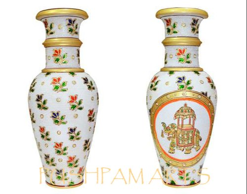 Ethnic Corporate Gifts - Marble Flower Vase 12 Inchs