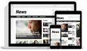 News Website Development, With 24*7 Support