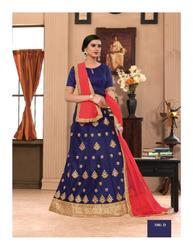 Net Gajiwala Women's Fancy Designer Ghagra Choli