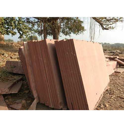 Agra Red Stone, Thickness: 40 mm