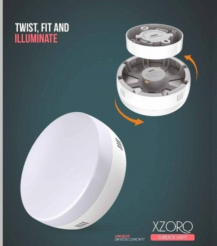 PC Gm Xzoro LED Surface Mounted Light, 7W to 20W