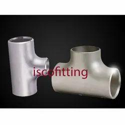 ASTM B366 UNS N02200 Buttweld Equal Tee
