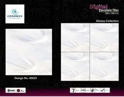 Digital porcelain tiles