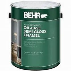 Oil Base Semi Gloss Enamel Paints, Packaging Type: Tin