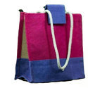 Multicolor Eco Friendly Jute Hand Bag