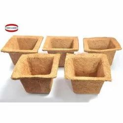 Coir Garden 8 Inch Natural Spanish  Coir Pot