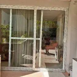 Sliding Clear Glass Designer UPVC Doors, 5 To 8 Mm