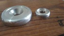 Stainless Steel CNC machined components, For Industrial