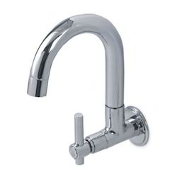 Sink Cock Round Spout