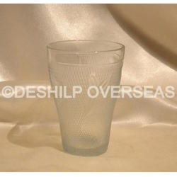 Decorated Drink Glass