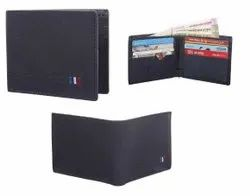 Gents Black Leather Wallet