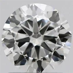 1.00ct Lab Grown Diamond CVD G VVS2 Round Brilliant Cut IGI Crtified Type2A