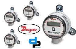 Dwyer MS 721 LCD Magnesense Differential Pressure Transmitter