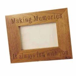 eabf60376c43 Black Personalized Name Wooden Photo Frame