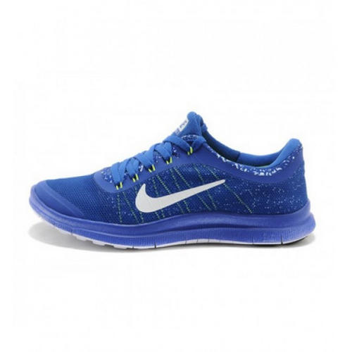 huge selection of 3a961 476df Box Nike Free 3.0 V6 Blue White, Size  41-45