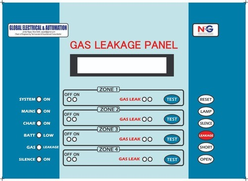 Gas Leak Panel-Fire Alarm