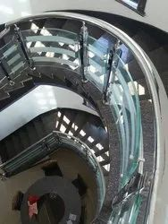 Bend Glass Railings