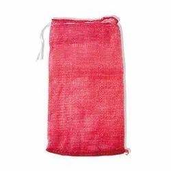 PP Red Potato Leno Bag