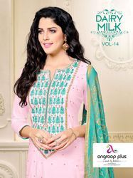 Chanderi cotton Bollywood Suits