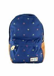 Blue Colour College Bag