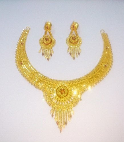 Sdj 916 Gold Necklace 30gm Rs 5716