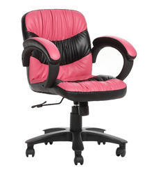 Workstation Pink and Black Chair (The Soriente Lb)