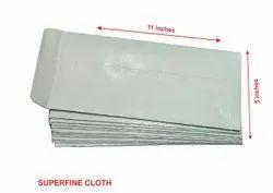 SUPERFINE Cloth Office Envelope 11 Inch x 5 Inch