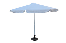 Patio Garden Umbrella - 3M - White