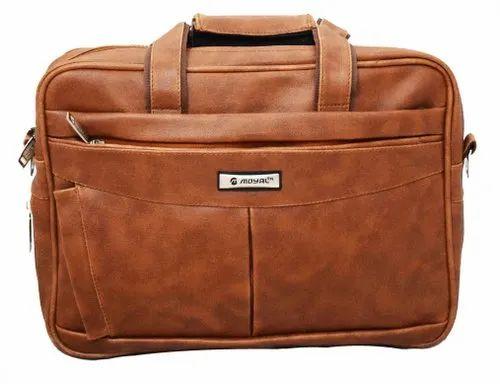 Tan Color Office Bag