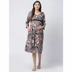 1d0f2dd279690 L And XL Rayon Floral Feeding Gown, Rs 1199 /piece, Shubh Shri ...