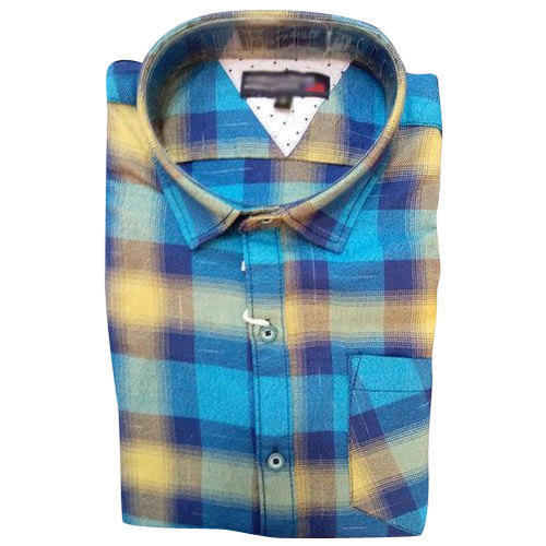 Checked Regular Fit Casual Cotton Shirt