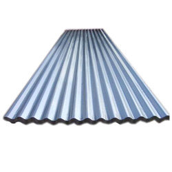 Green And Blue Ultra Shine Roofing Profile Sheet