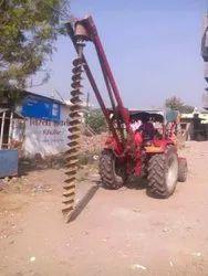Pile bore contractor