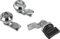 Stainless Steel Small Quater Turn Lock, Chrome