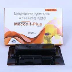 Mecobalamin 1000mcg  Nicotinamide100mg injection