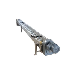 Asppice Engineering Stainless Steel SS Screw Conveyor, 220 V
