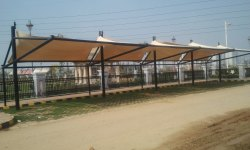 PVC Walkway Covering Structure