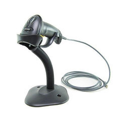 Zebra Symbol LS2208 Barcode Scanner With Stand
