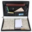 Leatherette Document File Folder