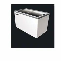 EKG 405A Glass Top Deep Chest Freezer