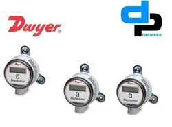 Dwyer MS 121 LCD Magnesense Differential Pressure Transmitter